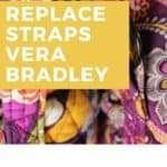 Vera Bradley Tote Bag Straps