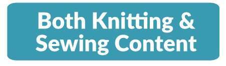 Subscribe to both knitting and sewing content